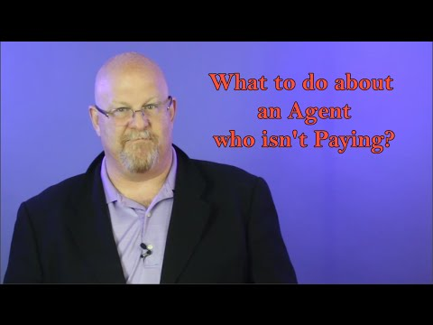 What to do about an Agent who isn't Paying - Entertainment Law Asked & Answered