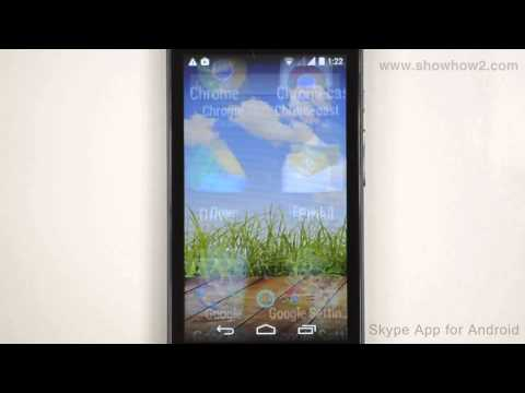 Skype Android App - How To Sign In Using A Microsoft Account