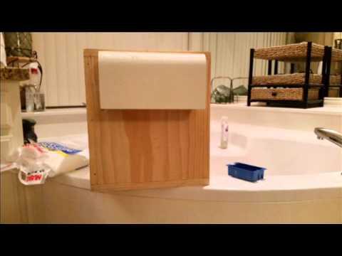 DIY shower dryer project