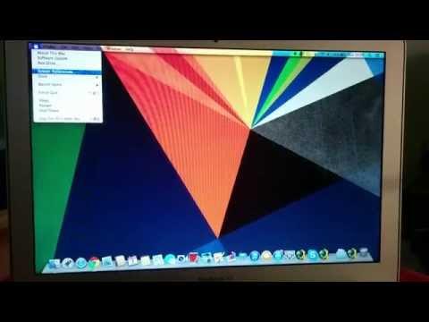 Find Wifi Mac Address on MAC