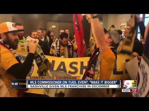 Cincinnati is set to party to celebrate Major League Soccer announcement