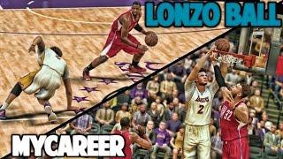LONZO GETS HIS ANKLES BROKEN - NBA 2K17 LONZO BALL MyCareer