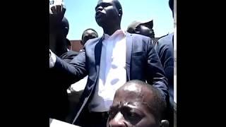 Cde Marufu threatens death