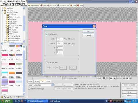 Cum sa faci un Watermark cu PhotoScape