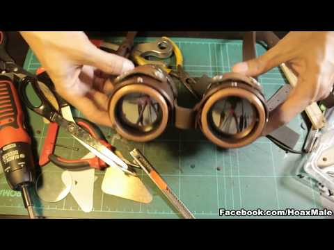 Steampunk Goggles (Makeing of)