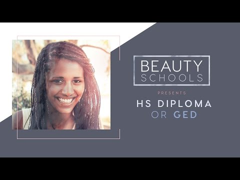 High School Diploma or GED for Cosmetology School