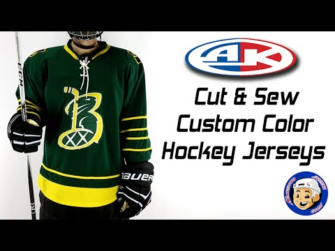 Custom Hockey Jerseys | Athletic Knit Custom Cut & Sew - Homegrown Sporting Goods