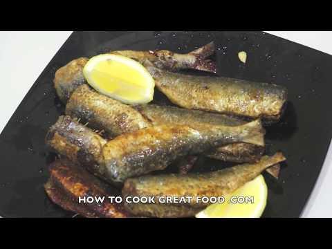 Simple Fried Sardines Recipe Video - Fish