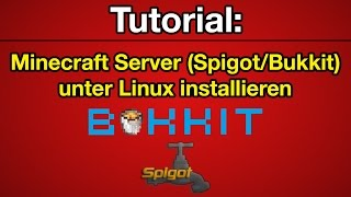 How To Download And Compile Bukkit CraftBukkit And Spigot On - Minecraft spigot server erstellen linux