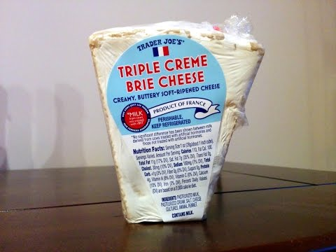 Tasting Trader Joe's Triple Creme Brie with an Enthusiastic Corgi