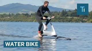 This Bike Lets You Ride On Water With Ease