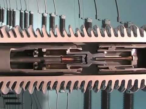 H.V Bushing Circuit Breakers Internal Structure