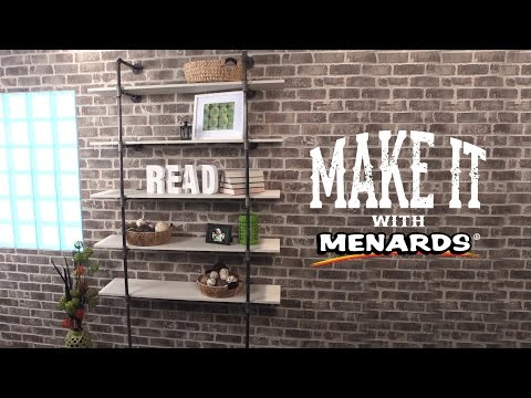 Industrial Pipe Bookshelf - Make It With Menards