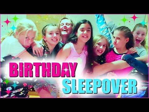 Teen Sleepover Party!  Birthday Sleepover Party Ideas!