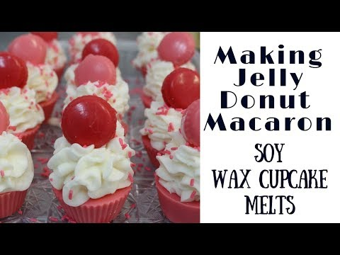 Making Soy Wax Melt Cupcakes
