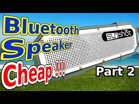 Cheap bluetooth speaker, repair and final grade