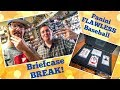 BRIEFCASE BREAK Opening A 1400 Box Of Baseball Cards