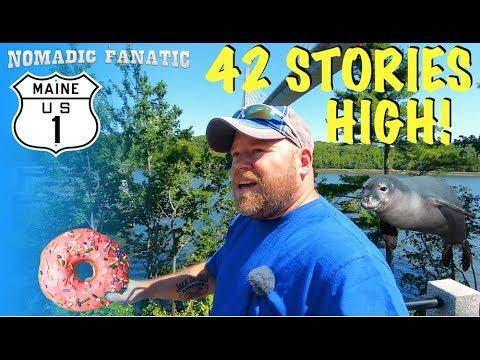 Donut Inventor, Seals, Lime Kilns, Atop Bridge!