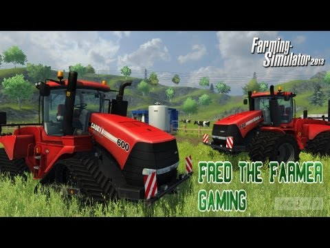 Farming simulator 2013 ep 2- Selling my wheat