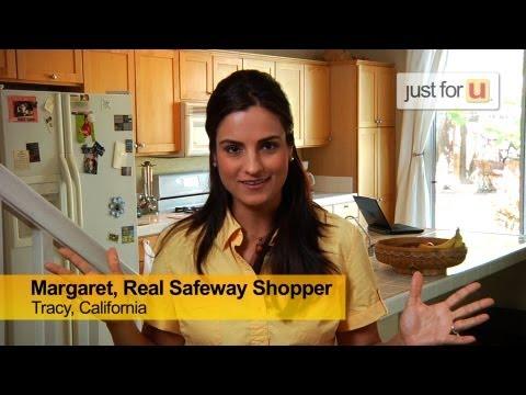 Safeway just for U™ Shopper Tip: Easy Sign Up