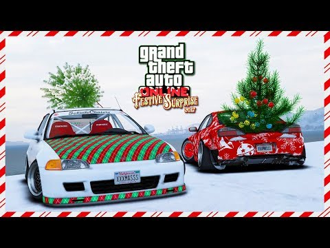 GTA Online Festive Surprise 2017 DLC NEW FREE Cars, Christmas Gift, 2018 Updates & MORE QNA! (GTA 5)