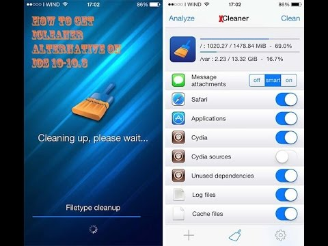 How To Free Up Space On IOS 10-10.3 Without a Jailbreak (xcleaner)