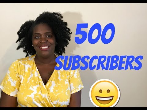 Channel Update | 500 Subs | Chit Chat
