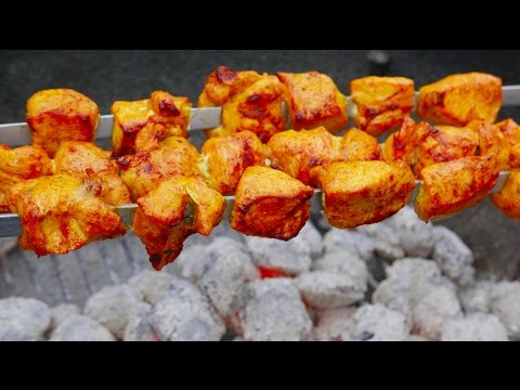 Persian Chicken Kabobs Recipe