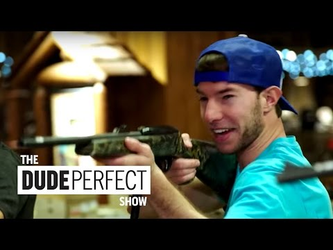 Dude Perfect Takes Over Bass Pro