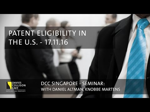 Patent Eligibility in US - DCC Singapore