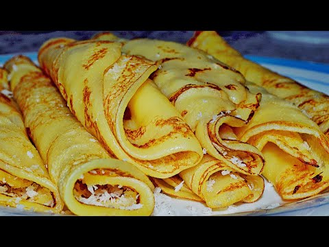 [Mauritian Cuisine] Easy French Crepes Recipe | Recette Crêpes Facile