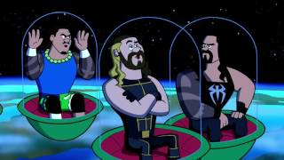 WWE Superstars in outer space!