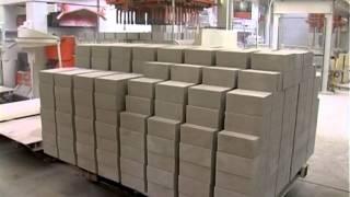 Sand lime brick production / Производство силикатного кирпича / Herstellung von Kalksandstein