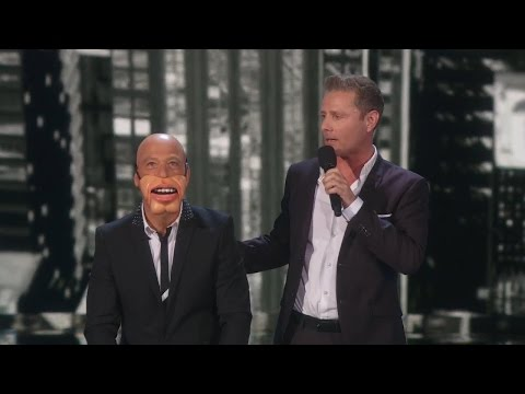 America's Got Talent 2015 S10E23 Semi-Finals Rd.2 - Paul Zerdin Genius Ventriloquist