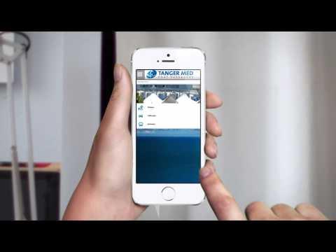 TANGER MED PORT PASSAGERS - Présentation de l'application mobile