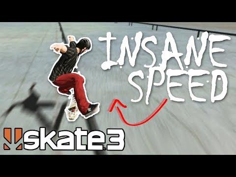 Skate 3: EPIC GRIND CHALLENGE w/ INSANE SPEED GLITCH?!