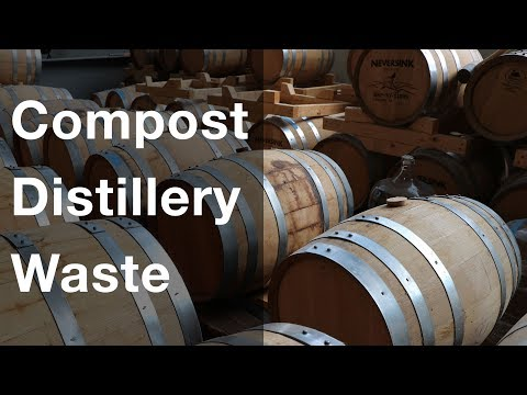Composting Distillery Waste