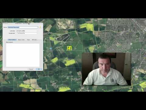 Get Latitude and Longitude from Google Earth