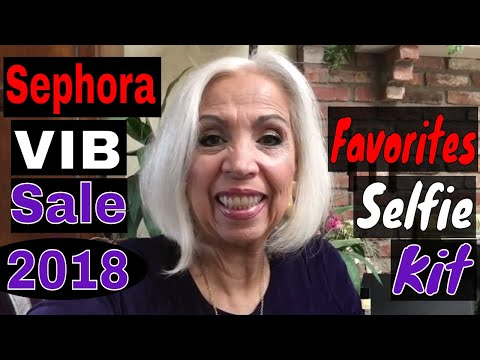 Sephora Favorites Selfie Kit - Trying It Out
