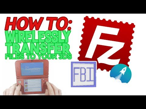 3DS - Wireless SD CARD File Transfer with Homebrew & FBI (Quick & Easy Tutorial)