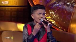 Super Singer Junior - Malare Mounama by Dharshan and Rohini