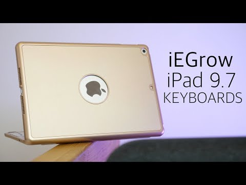 iEGrow's iPad 9.7 Keyboard Cases Might be the Best