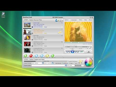 Convert and burn MP4 To DVD