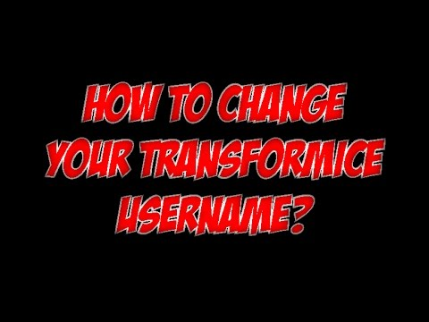 How To Change Your Transformice Username (2017 Tutorial) + I Changed My Name!!