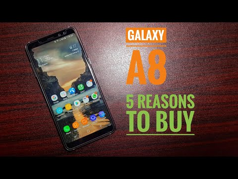 5 reasons to buy Samsung Galaxy A8 2018!
