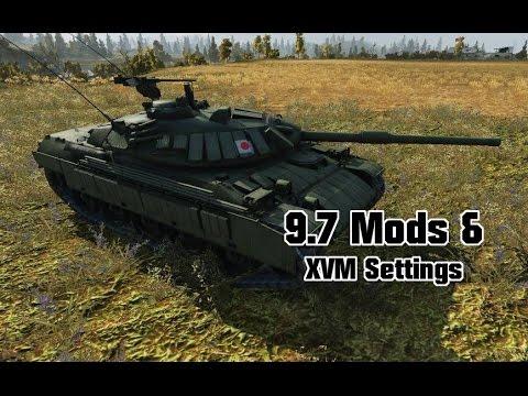 9.7 Mods & XVM Settings - Modern Armor || World of Tanks