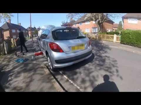 Как поменять приводный вал Peugeot 207