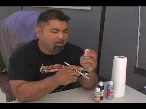 CFX ESSENTIALS: Cleaning your Airbrush with FASKLEANER!