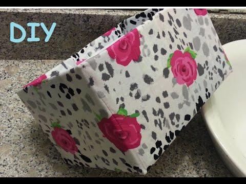 {DIY} Fabric Storage Boxes