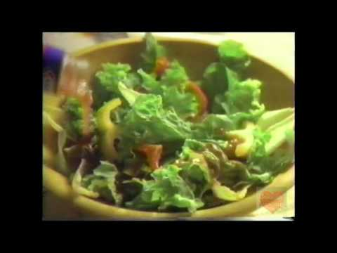 Kraft Red Wine Vinegar Fat Free Dressing | Television Commercial | 1995